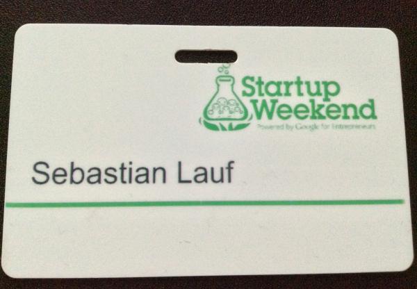 Startup Weekend Mainz 16.05-18.05 2014 Rückblick